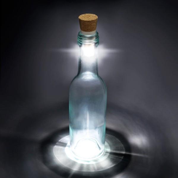 bouteilles transparente pour leds