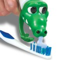 Crocodile distributeur de dentifrice