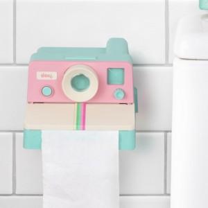 Distributeur de papier toilette Polaroll Pink