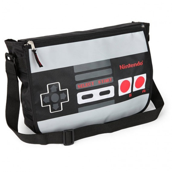 Le sac reversible manette de Nintendo NES