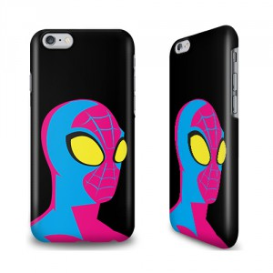 Coque smartphone Spiderman rose pop Marvel
