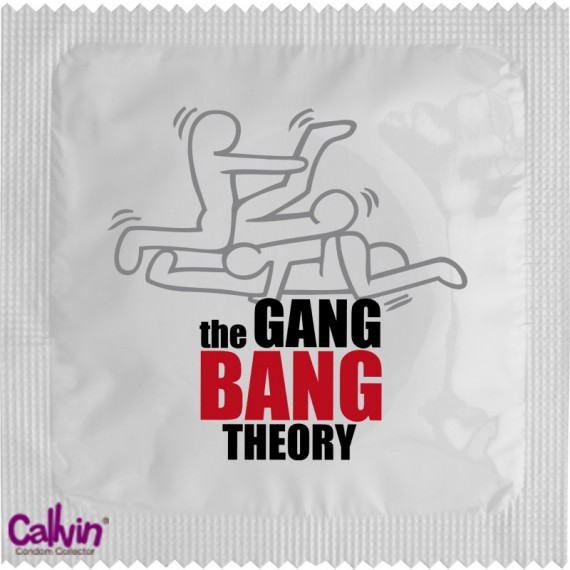 Préservatif The Gang Bang Theory