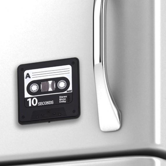 Post-it magnétique enregistreur