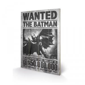 Panneau en bois Batman recherché