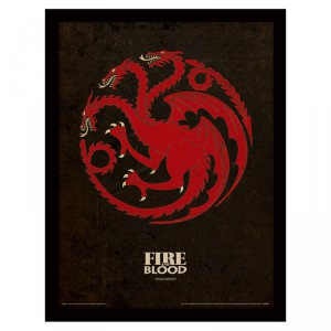 Cadre Targaryen Game of Thrones
