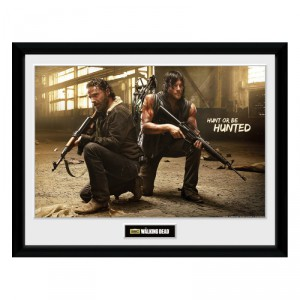 Cadre Walking Dead Rick et Daryl Hunt