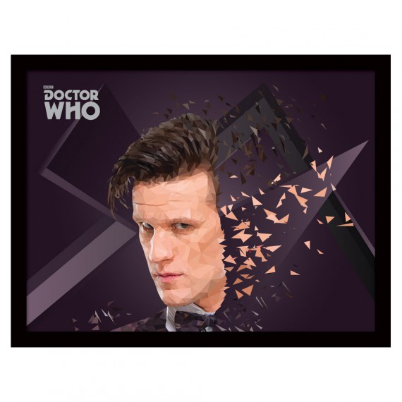 Cadre 11th Doctor Geometric Doctor Who