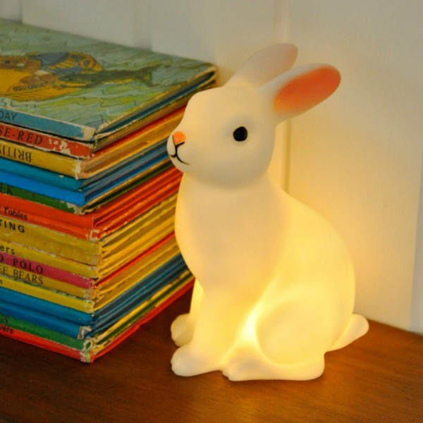 lampe veilleuse lapin pour enfants comment se ruiner. Black Bedroom Furniture Sets. Home Design Ideas
