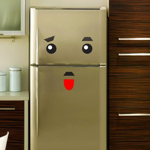 stickers monstres pour frigo. Black Bedroom Furniture Sets. Home Design Ideas