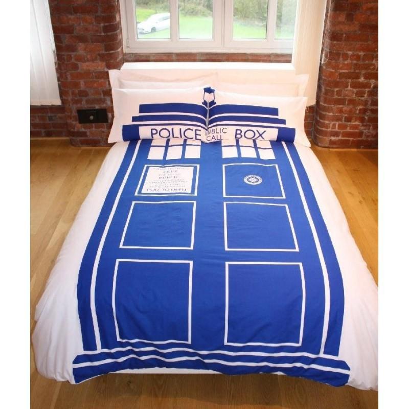 de lit double tardis doctor who