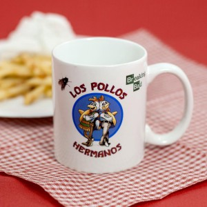 Le mug Breaking Bad Los pollos Hermanos