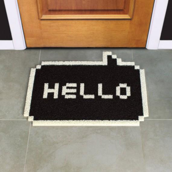 Paillasson Hello 8-Bit