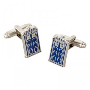 Bouton de manchette Tardis Doctor Who