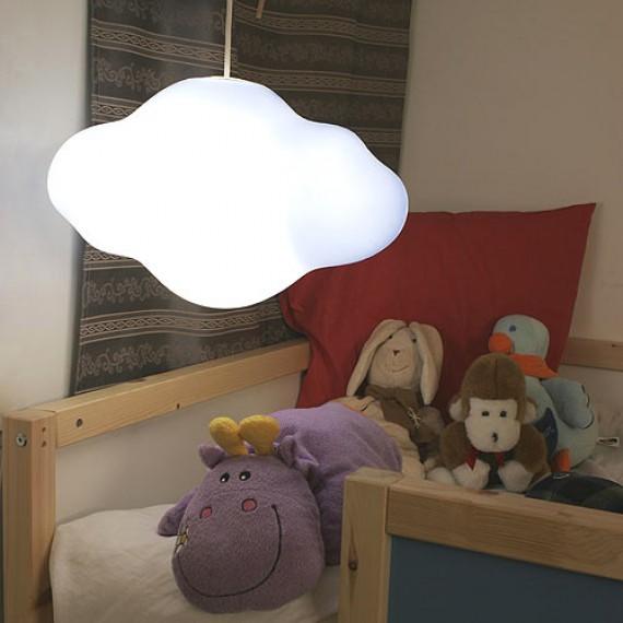 Lampe plafonnier nuage