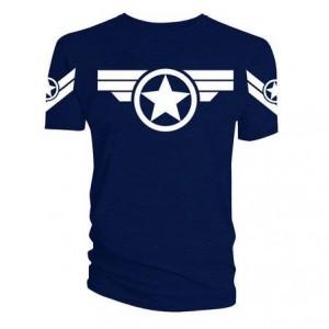 T-Shirt Captain America Steve Rogers Uniforme
