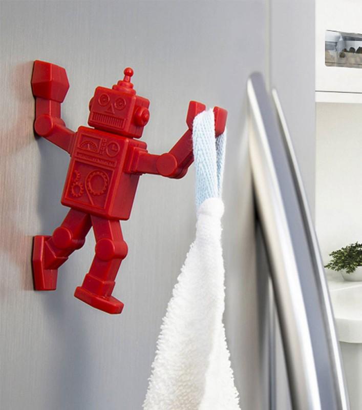 crochet robot magn tique. Black Bedroom Furniture Sets. Home Design Ideas