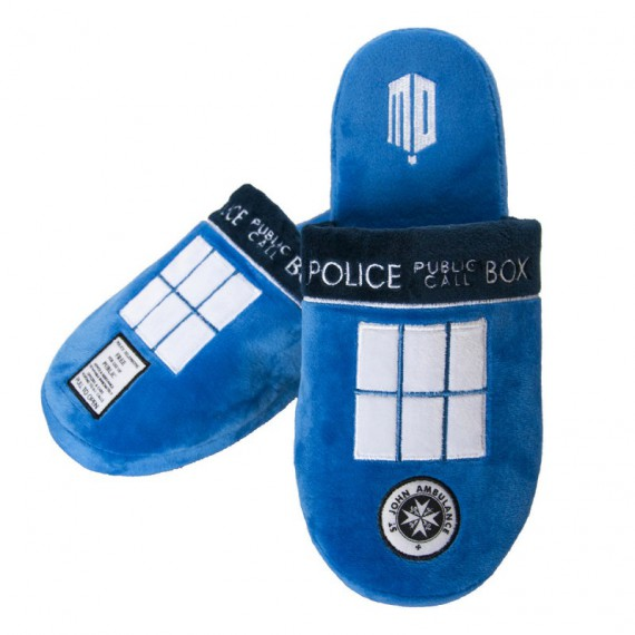 Chaussons Tardis Doctor Who