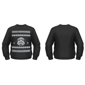 Sweat-Shirt Star Wars Stormtrooper Pull de Noël