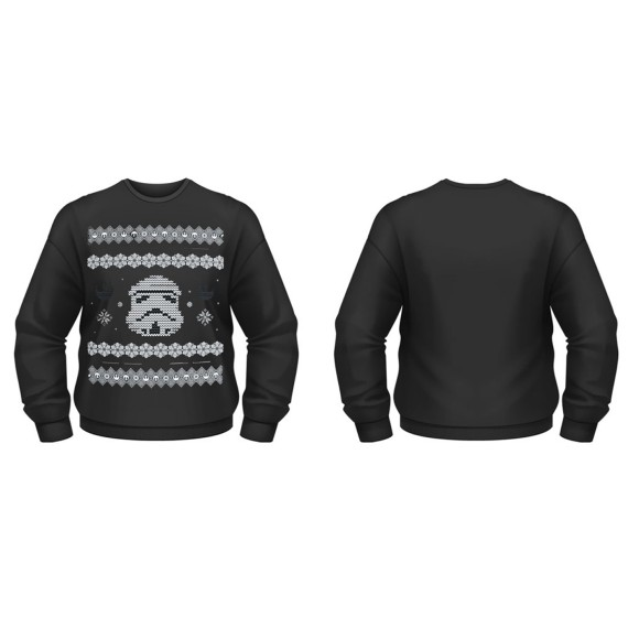 Sweat-Shirt Star Wars Stormtrooper Pull de Noël