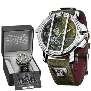 Montre Star Wars Collector Deluxe Boba Fett
