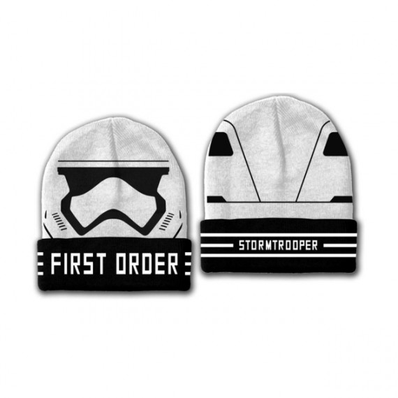 Bonnet Star Wars First Order Stormtrooper