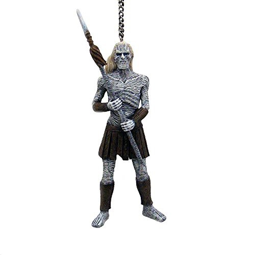 D coration de noel game of thrones white walker for Decoration murale game of thrones