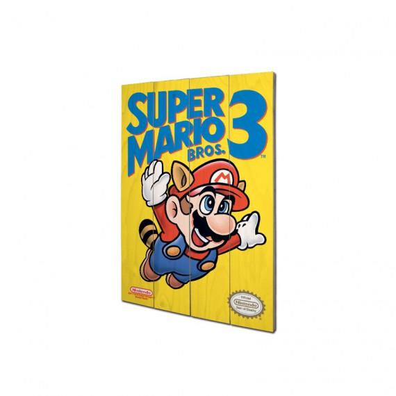 Panneau en Bois Nintendo Super Mario Kart