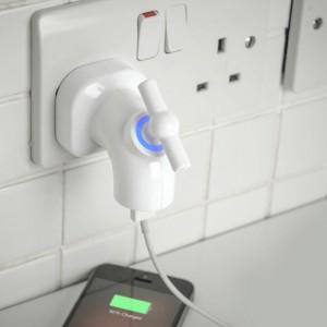 La prise chargeur USB en forme de robinet