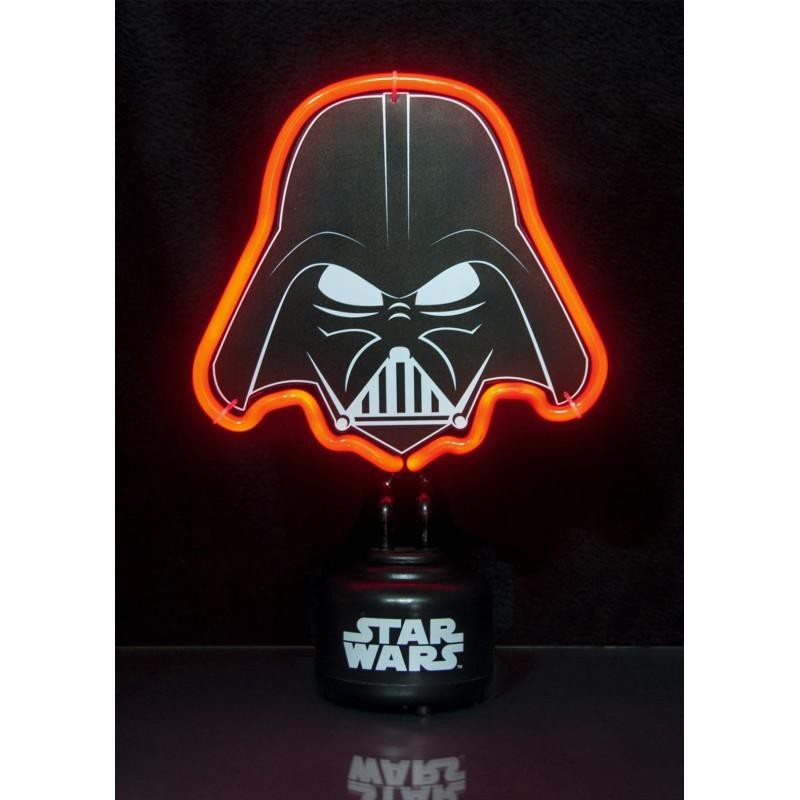 lampe neon star wars dark vador. Black Bedroom Furniture Sets. Home Design Ideas