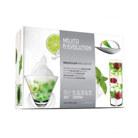 Kit Cocktail Mojito moléculaire