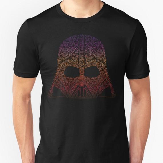 T-shirt Neon Dark Vador