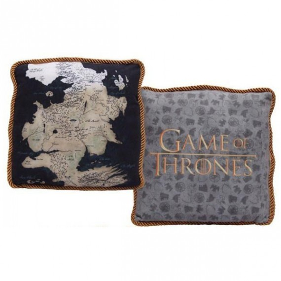 Coussin Game of Thrones Westeros Nord