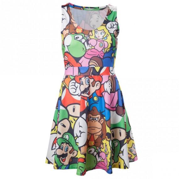 Robe Nintendo Mario Personnages