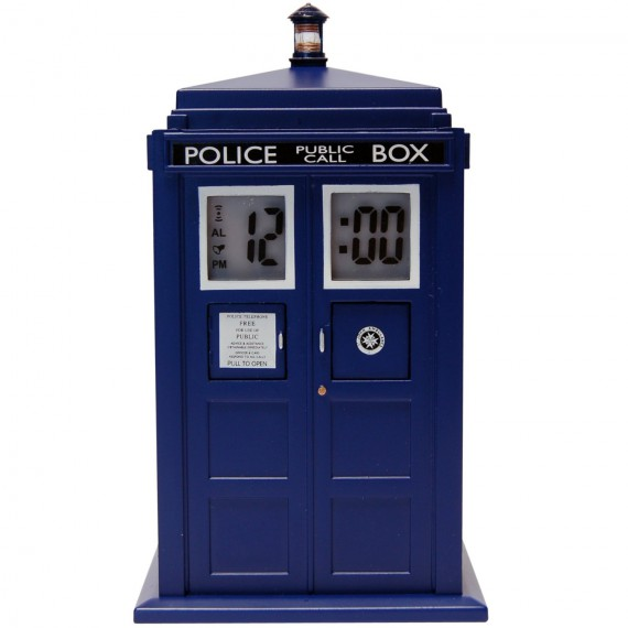Réveil Doctor Who Tardis