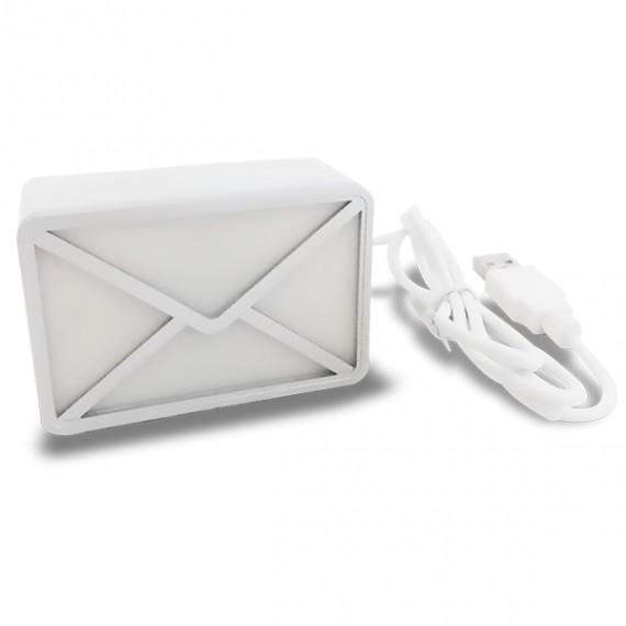 Enveloppe Alerte E-mail USB