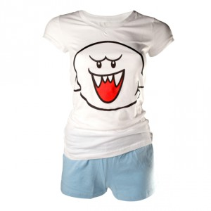 Pyjama femme Nintendo Super Mario Boo