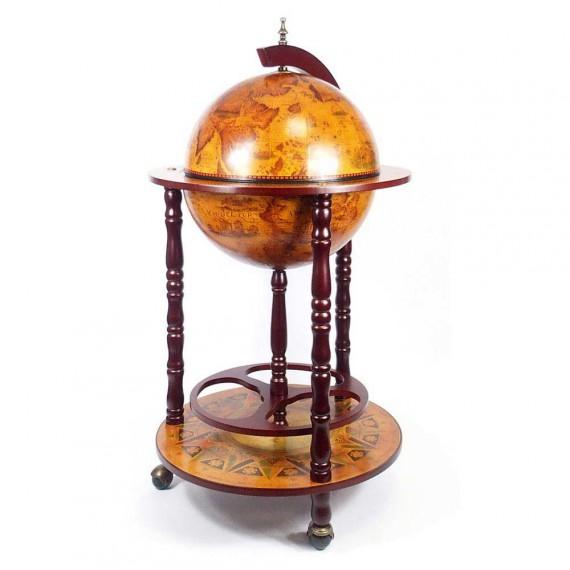 Chariot Globe Terrestre Bar