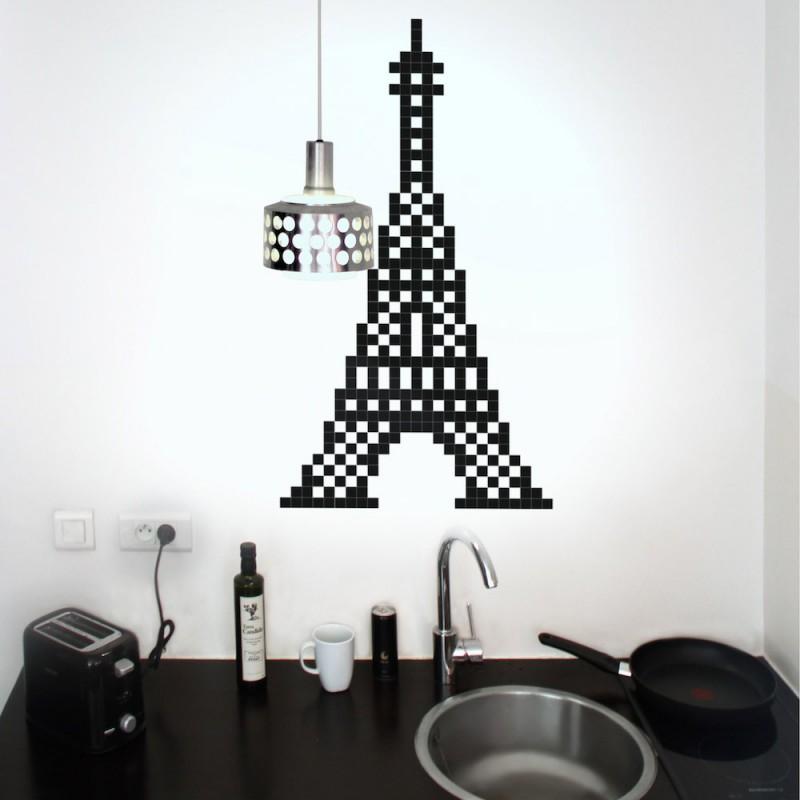Decoration Murale Tour Eiffel