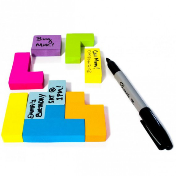 Sticky Notes Tetris