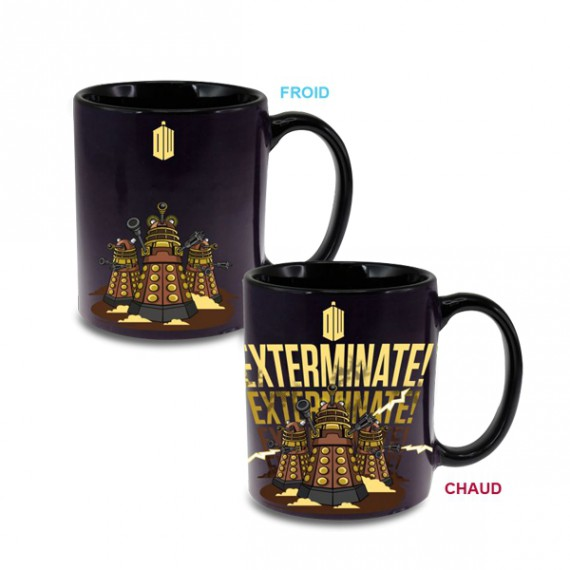 Mug Doctor Who Dalek Thermoréactif