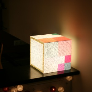 Lampe Cube Your Only Way Uniqcube