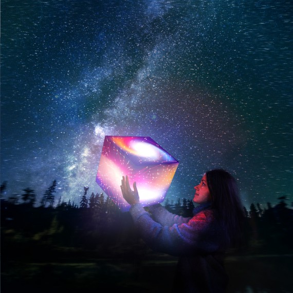 Lampe Cube Know Your Stars Uniqcube