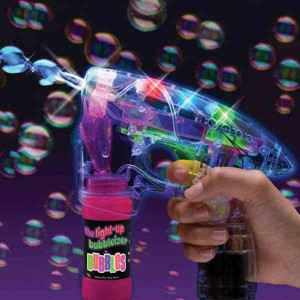 Pistolet Lumineux à bulles