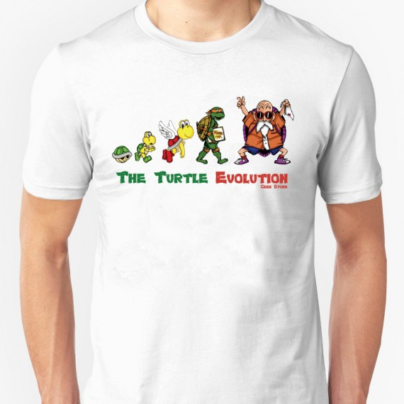 T-shirt The Turtle Evolution