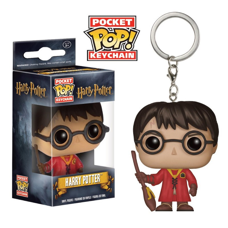 Porte cl s funko pop harry potter quidditch for Pop house music