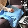 Couverture chauffante USB