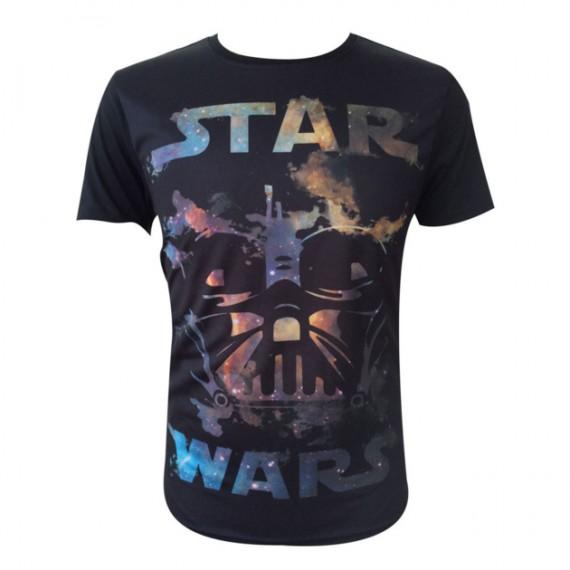 T-shirt Star Wars Dark Vador Nébuleux