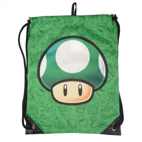 Sac Ficelle Nintendo Champignon