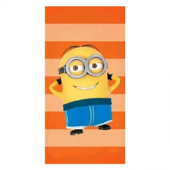 Minion en serviette