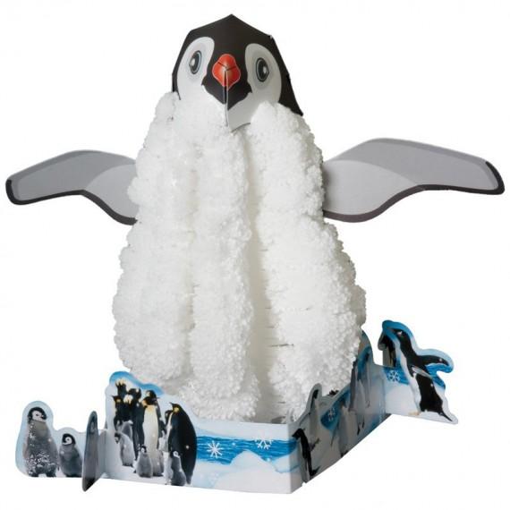 Pingouin de Cristal qui grandit tout seul